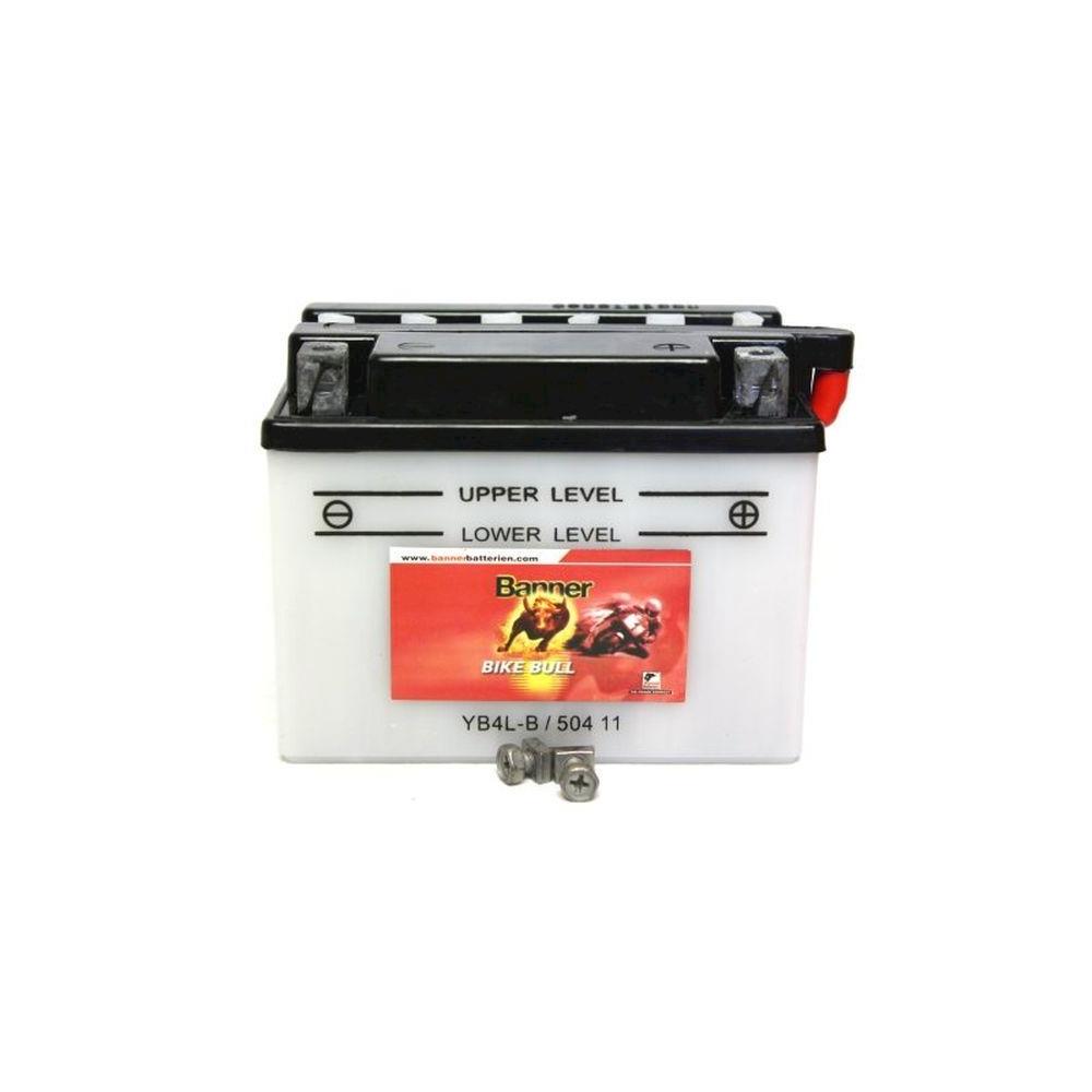 rollerbatterie roller batterie 12v 4ah von banner top ebay. Black Bedroom Furniture Sets. Home Design Ideas