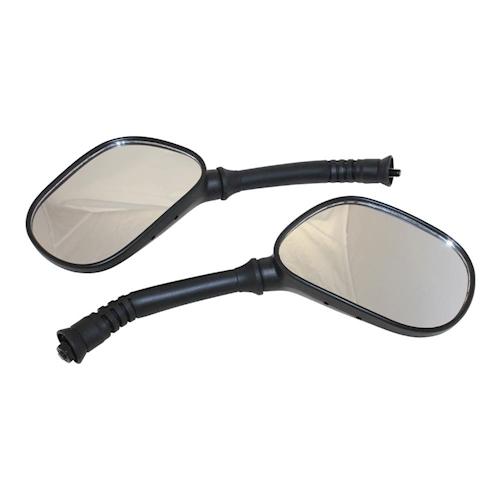 Spiegel SET Spiegelset universal für Roller M8 M 8 Gewinde rechts links NEU