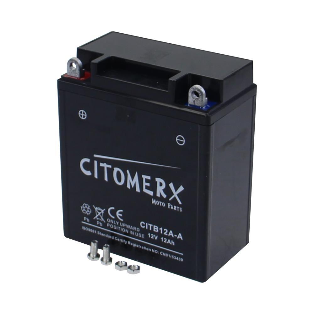 Begeistert Batterie Motorradbatterie Cb12a-a 51211 12v 12ah Yamaha Xs 250 Typ 1u5 77-80