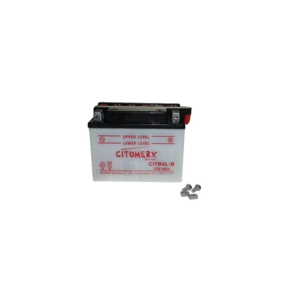 Batteria Yb4l-b 12v 4ah Per Atala At12 50 Ac Hacker Bj. 96-99 -  - ebay.it