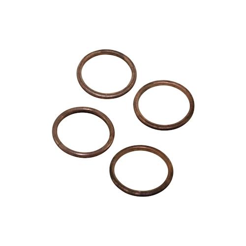 Curva-di-scarico-guarnizione-per-DAELIM-VJ-125-HONDA-CA-CB-CBF-CBR-GL-VF-set-4-pezzi