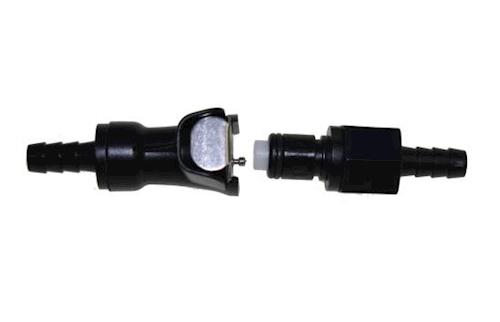 Benzinschlauch Kupplung Schnellverschluss 8 mm für Aprilia Mojito Custom 50 3
