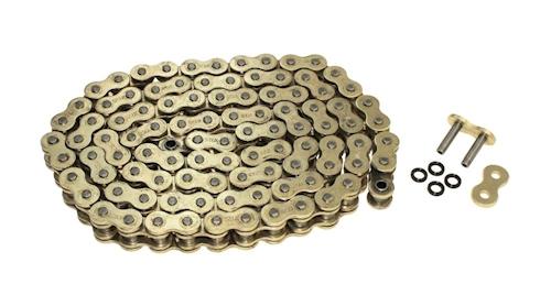 Kette X-Ring verstärkt 525 5//8x5//16 118 GL Farbe Gold Ducati 998 Biposto//Monop.