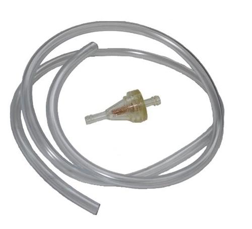 Benzinschlauch transparent 1 Meter 5mm für REX RS 450 4-Takt