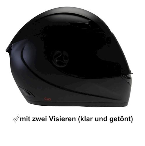 cmx motorradhelm sturzhelm helm blacky schwarz matt mit. Black Bedroom Furniture Sets. Home Design Ideas