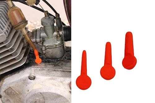 Benzinschlauch-Verschluss Ölschlauch Stöpsel Set 3 St für Flex Tech Topspeed 50