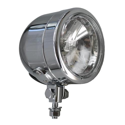 Fernlicht rund H4 90mm Verchromt 4000002233402 Motorrad Zusatzscheinwerfer