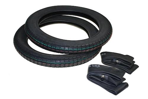 2x Reifen Und 2x Schlauch 2.75-16 2 3/4x16 Für Simson S50 S51 S70 S53 S83 Kr51/1 Reifen