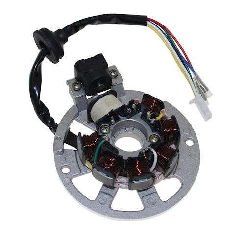 lichtmaschine stator version 3 3pins f motowell magnet 50. Black Bedroom Furniture Sets. Home Design Ideas