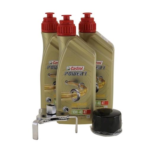 Ölwechsel Set Ölfilterschlüssel für Kymco MXU 700 4x4 EXi LOF Bj 2014