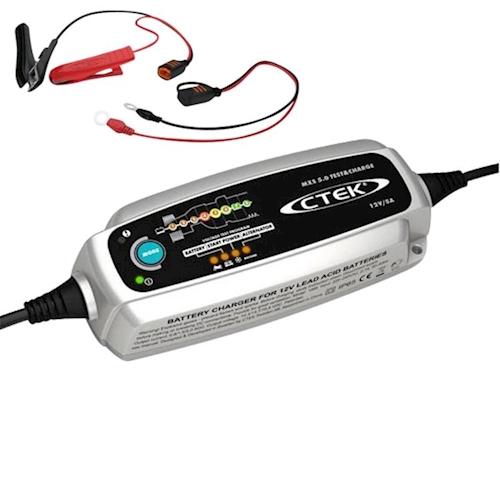 ctek mxs 5 0 t c charger trickle charger battery tester. Black Bedroom Furniture Sets. Home Design Ideas
