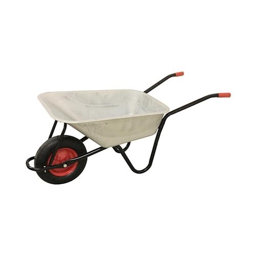 Schubkarre 100 L Transportwagen Gerätewagen Luftrad Gartenkarre 200kg NEU