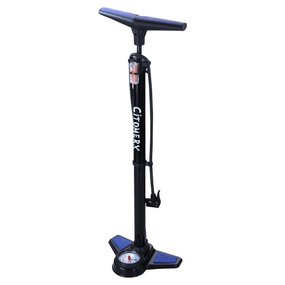 cmx fahrrad hochdruck luftpumpe 12 bar standpumpe mit. Black Bedroom Furniture Sets. Home Design Ideas