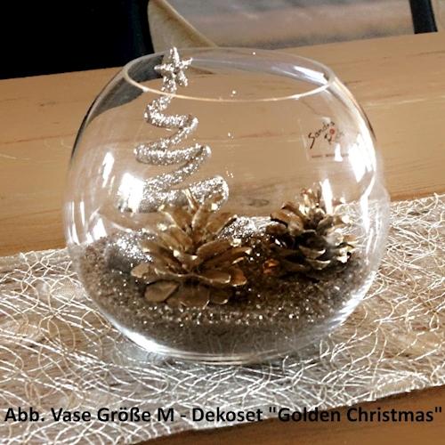 weihnachtsdekoration tischdekoration glas weihnachten. Black Bedroom Furniture Sets. Home Design Ideas