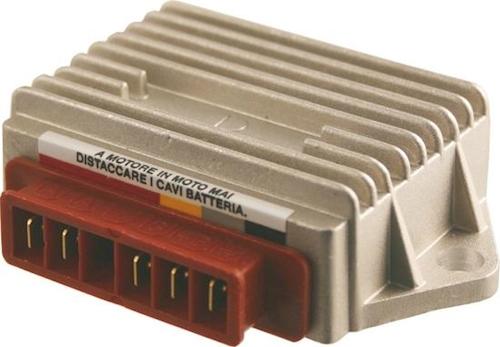 Régulateur de tension pour piaggio APE 50 fl//fl2 2t AC type tl6t Année de construction 1989