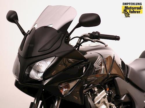 Touren Windschild MRA für Honda CBF 600 S Bj 2004-2013 schwarz Scheibe