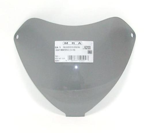 Originalformscheibe MRA für Ducati 600 750 900 SS schwarz Windschild