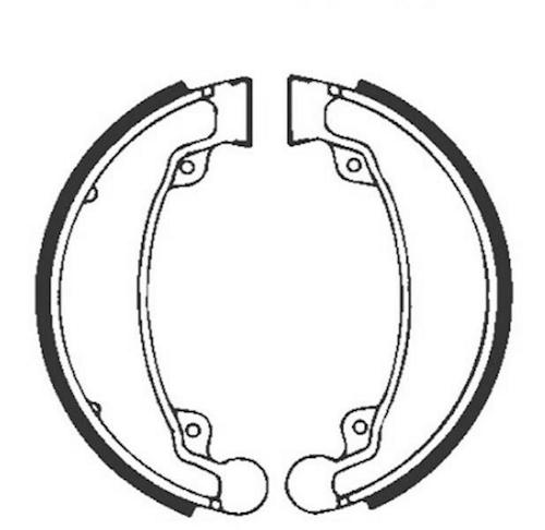 Bremsbacken für Trommelbremse EBC mit Federn H310 für Honda CM 250 C Custom