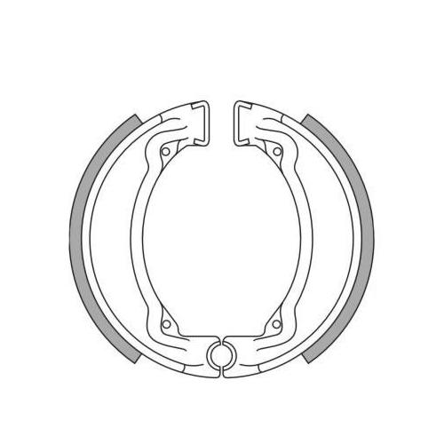 2006-2013 Bremsbeläge Bremsklötze EBC SFA047 für Keeway ARN 125 ARN125 Bj