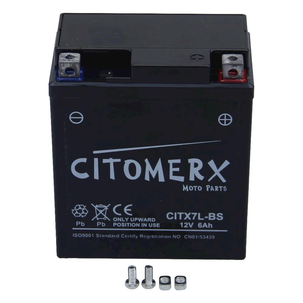 Bateria-Bateria-de-la-Motocicleta-ftx7l-bs-12v-6ah-para-HONDA-NX-250-2-TIPO-MD25