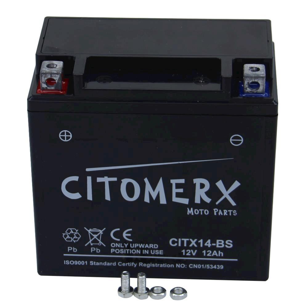 Bateria-Bateria-de-la-Motocicleta-ytx14-bs-PIAGGIO-VESPA-GTS-125-SUPERSPORT-ie