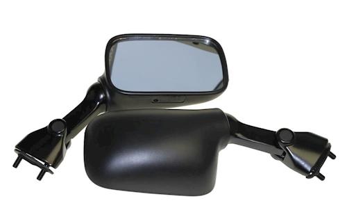 Miroir set noir avec marque d/'homologation E pour suzuki rf 900 r gt73b Année de construction 1994-1997