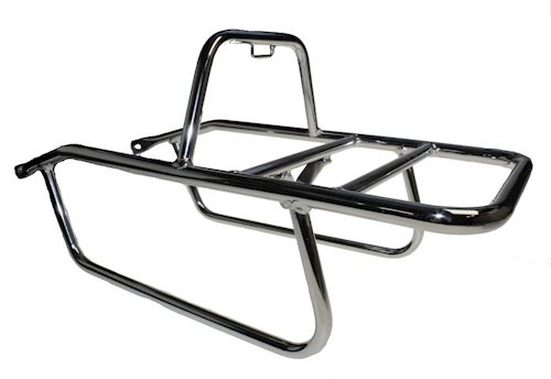 Luggage Rack Chrome for Zündapp GTS 50, Type 517 Moped , Moped, Moped NEW