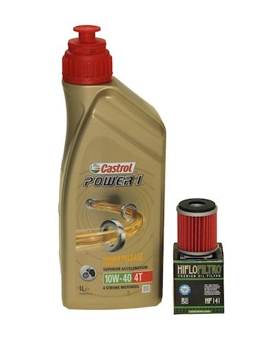 Aceite-cambio-Kit-1l-Castrol-10w-40-olfil-HF141-PARA-RIEJU-Maraton-125LC