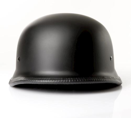 Halbschalenhelm-Chopperhelm-Brain-Cap-CMX-German-Easy-Rider-schwarz-neu