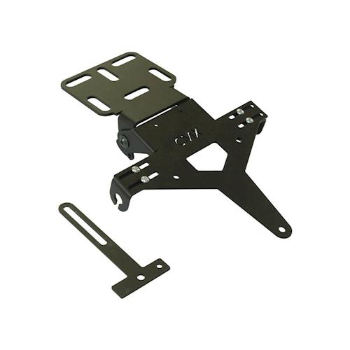 kennzeichenhalter universal schwarz typ 1 kennzeichentr ger motorrad roller mofa ebay. Black Bedroom Furniture Sets. Home Design Ideas