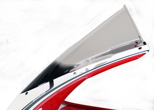 2007-2012 rauchgrau MRA Windschild Racing Scheibe Ducati 848// Evo// 1098 Bj