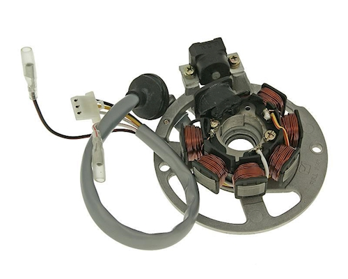 LICHTMASCHINE LIMA STARTER GY6 CHINA SCOOTER ROLLER QUAD ATV 139QMB//A 4T 4 Takt