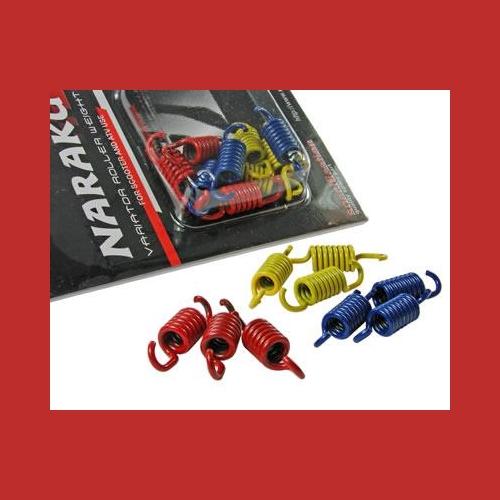 3x3 Naraku Sport Kupplungsfedern für Roller Aprilia SR 50 R Factory