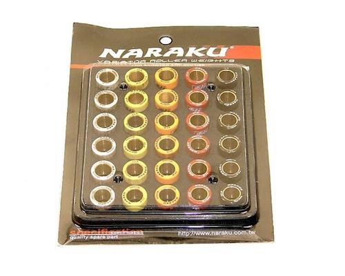 5g-6g pour Rex RS 450 4-temps Naraku abstimmkit variomatikgewichte 16x13