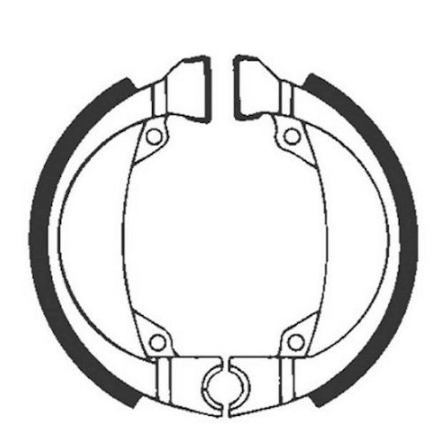 Motorradteile Bremsbacken Unparteiisch Neu Ebc Bremsbacken Für Trommelbremse Ohne Federn Typ H335 Für Honda