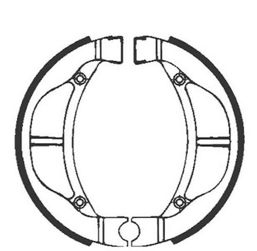 Bremsbacken Für Trommelbremse Ebc Mit Federn Typ H334 Für Honda Pxr 25 Ms Bremsen