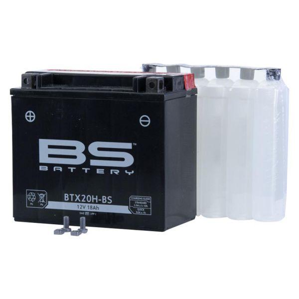 Batterie YTX20H-BS 12V/18AH 310A für Motorrad Quad ATV inkl. Säure  (160910)