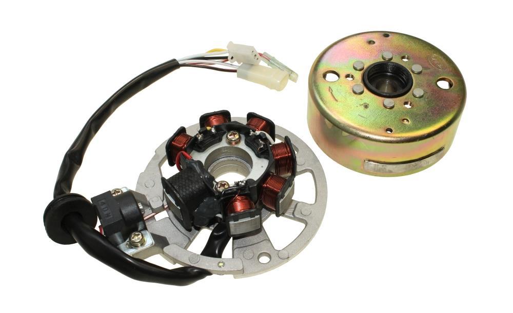 Zündspule Zündung Spule für Yamaha Aerox Aprilia SR 50 MBK Nitro 50
