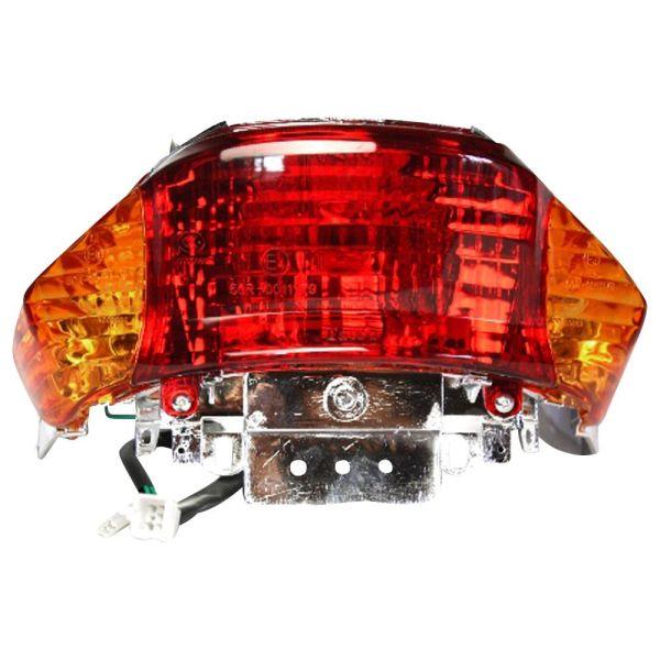 Rücklicht Rückstrahler Orange für 4 Takt China Roller, Baotian, Benzhou, Rex RS450, MKS (155157)