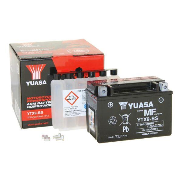 2013 YUASA YTX9-BS Batterie Suzuki GSX650 F  Bj