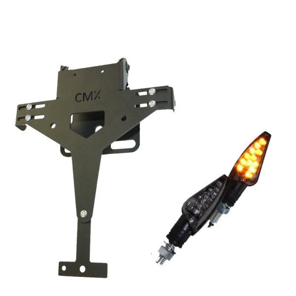 CMX Kennzeichenhalter V2 gelocht mit Blinker TEO im Set (16551810)