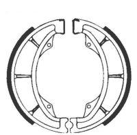 Bremsbacken für Trommelbremse EBC mit Federn Typ S602 (681045)