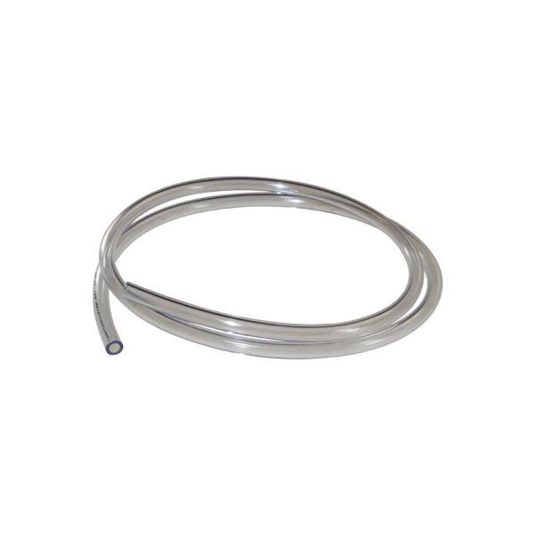 Benzinschlauch 1m Ø 5mm (5,5-7,0mm) transparent für Roller Mofas Mopeds (160020)