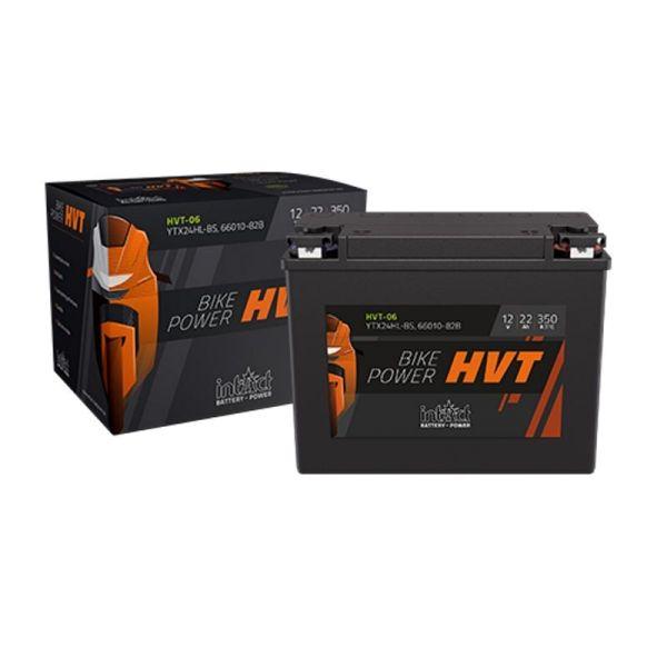 Intact Bike Power HVT Motorradbatterie 6V/22 AH Typ CB2-6 | 66006-29F (HVT-10)