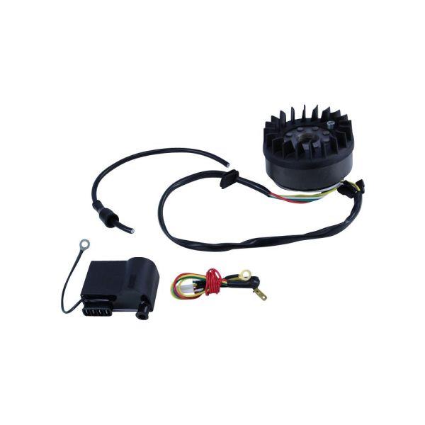 Lichtmaschine + Zündpule + Spannungsregler 12V 50ccm für gebläsegekühlte Zündapp (723392)