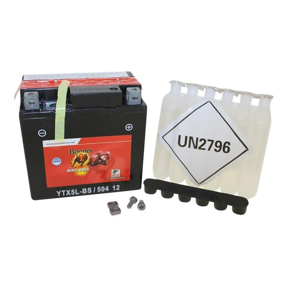 batterie banner wartungsfrei ytx5l bs 12v 4ah f r roller. Black Bedroom Furniture Sets. Home Design Ideas