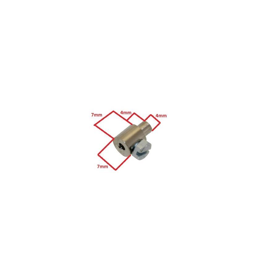 Schraubnippel Klemmnippel 21x21mm Bowdenzug für Yamaha YZ Zündapp ZR21  Hercules Kreidler Puch