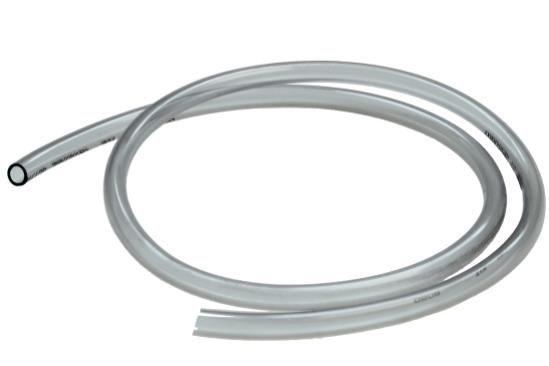 Benzinschlauch 7mm (7,5-9,0mm) transparent für Motorrad Moped Roller, 1m (162213)