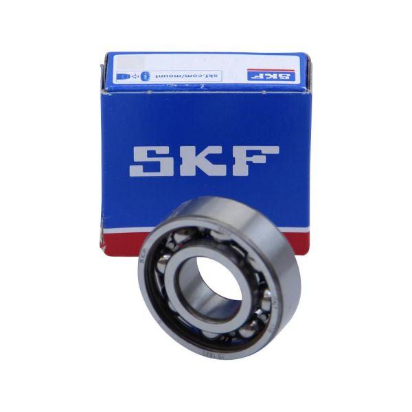 SKF Kugellager, Rillenkugellager Typ 6202 15x35x11 mm C0 Lagerluft Normal (6202)