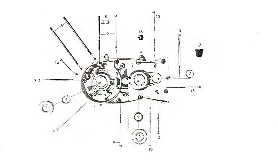 Zündapp Dichtung Getriebe Motordichtung GTS 50 Typ 529